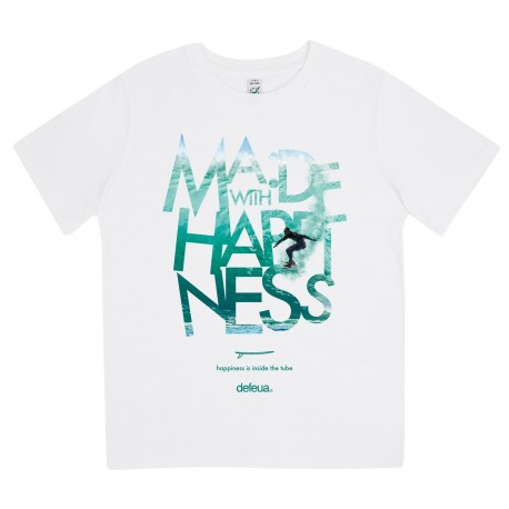 """MWH WAVE"" streetwear surf kids tshirt- 100% organic cotton"