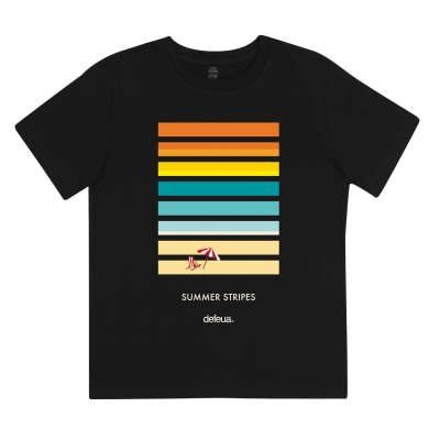 SUMMER TWO - Kids t-shirt Summer, sunset stripes 100% Organic Cotton
