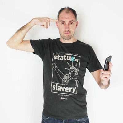 MODERN FREEDOM Status of Slavery Tee-Organic Cotton