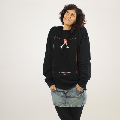 Defeua® ABOVE organic cotton unisex sweatshirt Jordan