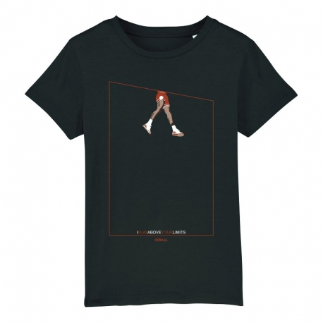 """ABOVE"" tee for kids with design about Michael Jordan"
