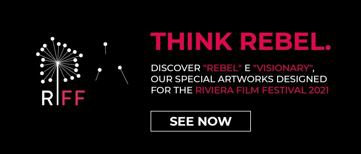 Discover the artworks we created for the Riviera International Film Festival 2021