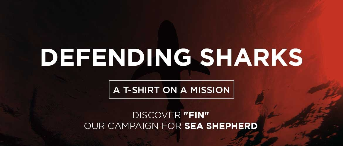 FIN is a t-shirt on a mission to protect oceans.