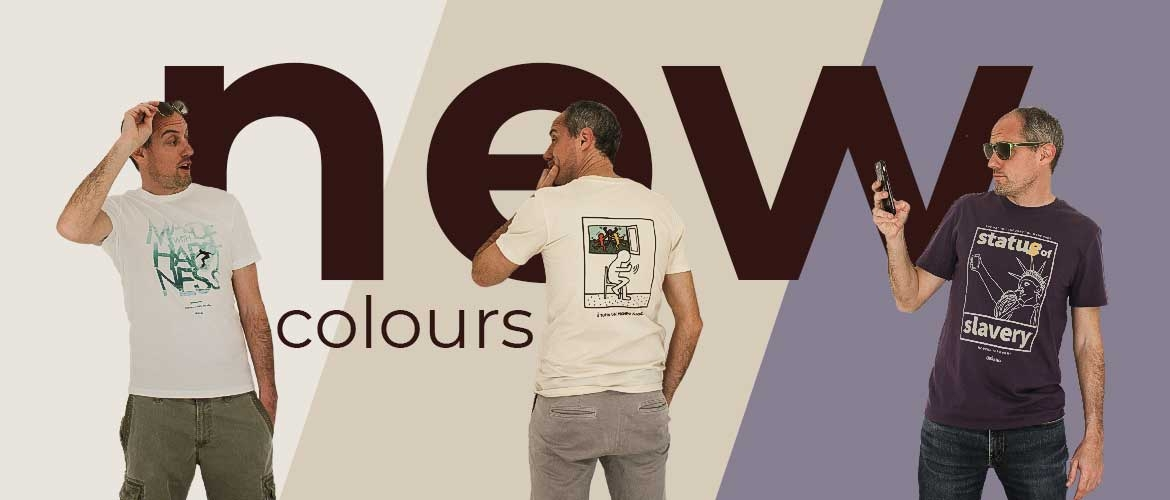 New colours 2021 collection